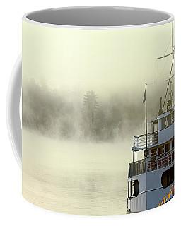 Foggy Morning Cruise Coffee Mug