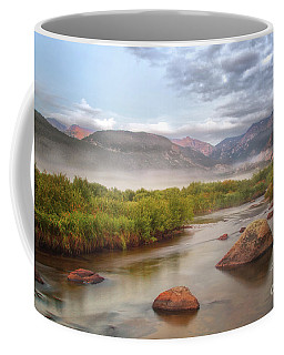 Foggy Morning In Moraine Park Coffee Mug
