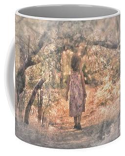 Foggy Morning Light Coffee Mug by Mary Lou Chmura