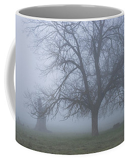 Coffee Mug featuring the photograph Foggy Morning by Randy Bayne