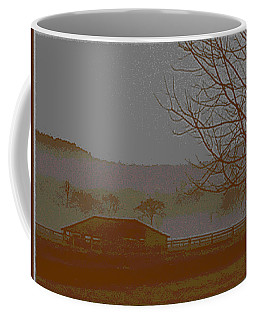 Coffee Mug featuring the photograph Foggy Morning by W And F Kreations
