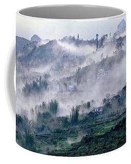 Foggy Mountain Of Sa Pa In Vietnam Coffee Mug