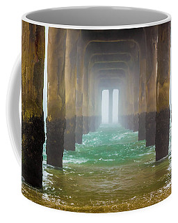 Coffee Mug featuring the photograph Coastal Fog by April Reppucci