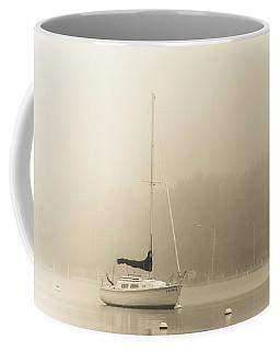 Foggy Sail Coffee Mug