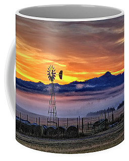 Foggy Spearfish Sunrise Coffee Mug