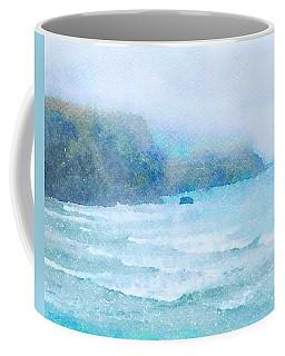 Foggy Surf Coffee Mug