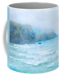 Foggy Surf Coffee Mug