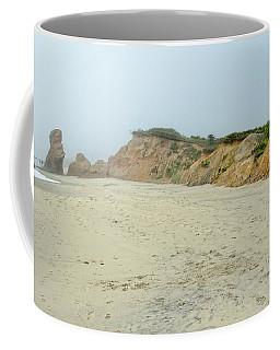 Foggy Vineyard Beach Coffee Mug