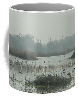 Foggy Wetlands Coffee Mug