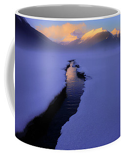 Foggy Winter Days In Banff Coffee Mug