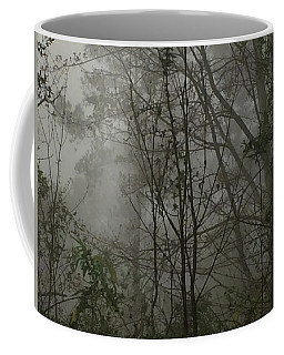 Foggy Woods Photo  Coffee Mug