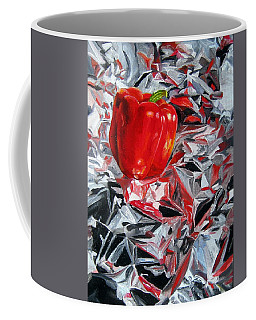 Foil Reflections Coffee Mug by LaVonne Hand