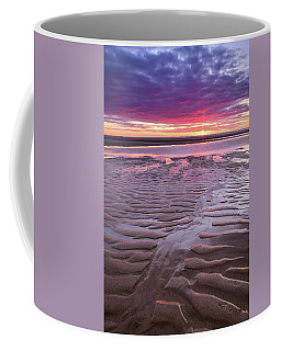 Folds In The Sand - Vertical Coffee Mug