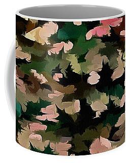 Foliage Abstract In Autumnal Tones Coffee Mug
