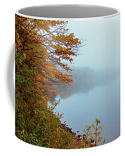 Foliage In The Fog 2 Coffee Mug
