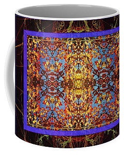 Coffee Mug featuring the photograph Foliage Tapestry by Joy Nichols