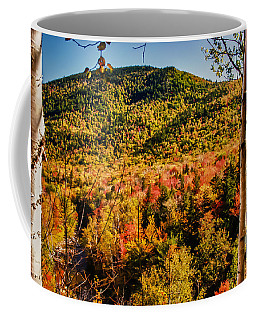Coffee Mug featuring the photograph Foliage View From Crawford Notch Road by Jeff Folger