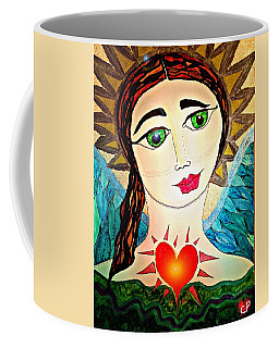Folk Athena Coffee Mug
