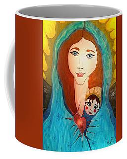 Folk Mother And Child Coffee Mug