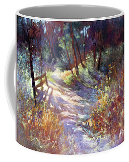 Follow Me Coffee Mug by Rae Andrews