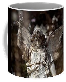 Follow The Heavenly Messenger - Christian Angel Art Coffee Mug