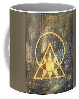 Follow The Light - Illuminati And Binary Coffee Mug