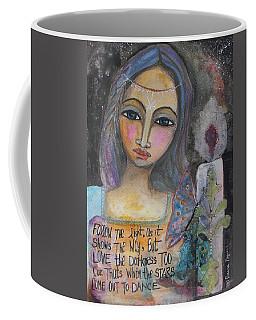 Follow The Light Coffee Mug by Prerna Poojara