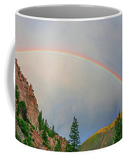 Follow The Rainbow To The Majestic Rockies Of Colorado.  Coffee Mug