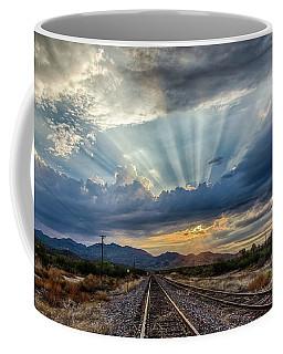 Follow The Rays Coffee Mug
