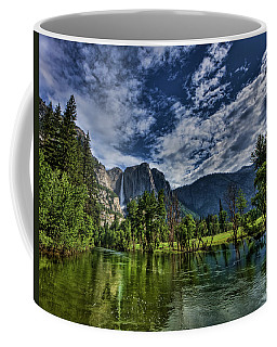 Coffee Mug featuring the photograph Follow The River by Beth Sargent