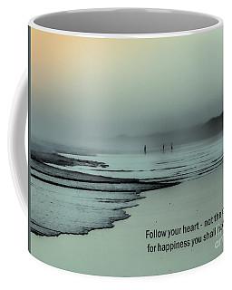 Follow Your Heart Coffee Mug