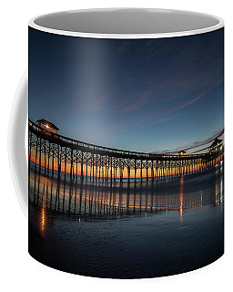 Folly Beach Pier Before Sunrise Coffee Mug