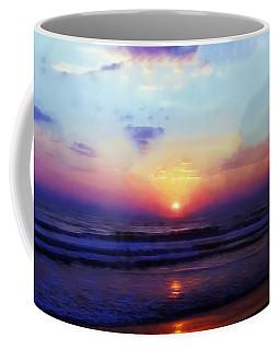 Folly Beach South Carolina Sunrise Coffee Mug