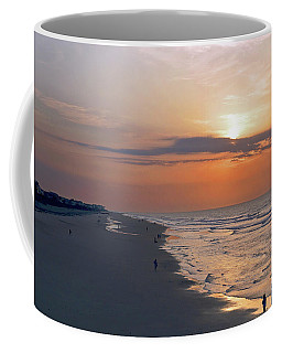 Folly Beach Sunrise Coffee Mug by Meta Gatschenberger