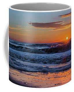 Coffee Mug featuring the photograph Folly Beach Sunrise by RC Pics