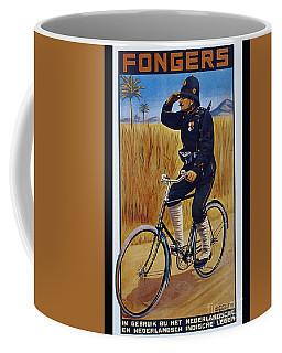 Fongers In Gebruik Bil Nederlandsche En Nederlndsch Indische Leger Vintage Cycle Poster Coffee Mug