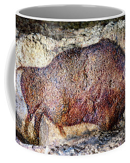 Font De Gaume Bison Coffee Mug