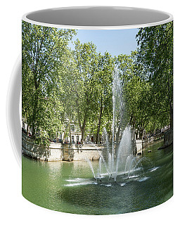 Coffee Mug featuring the photograph Fontaine De Nimes by Scott Carruthers