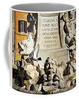 Fontana Del Pantheon - Pantheon Fountain Coffee Mug