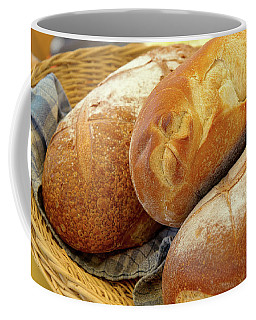 Coffee Mug featuring the photograph Food - Bread - Just Loafing Around by Mike Savad