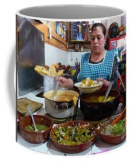 Food Court In Paracho Coffee Mug