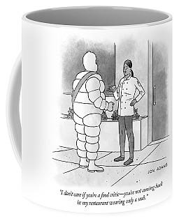 Food Critic Coffee Mug
