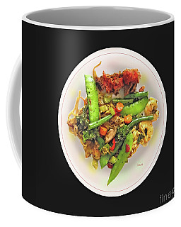 Food Plate One Coffee Mug