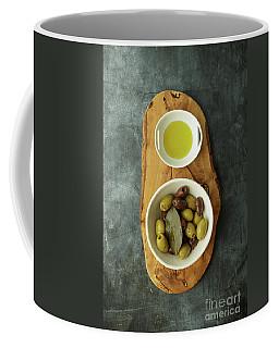 Food Still Life With Olives Coffee Mug