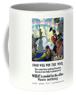 Food Will Win The War Coffee Mug