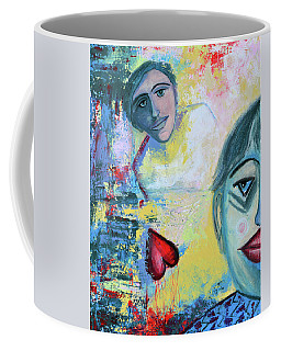 Foolish Love Coffee Mug by Donna Blackhall