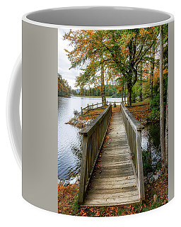 Foot Bridge At Linville Land Harbor Coffee Mug