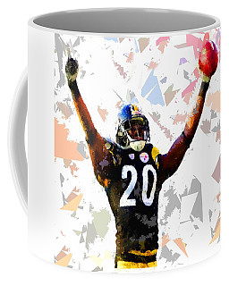 Coffee Mug featuring the painting Football 113 by Movie Poster Prints