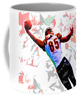 Coffee Mug featuring the painting Football 114 by Movie Poster Prints