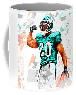 Coffee Mug featuring the painting Football 115 by Movie Poster Prints